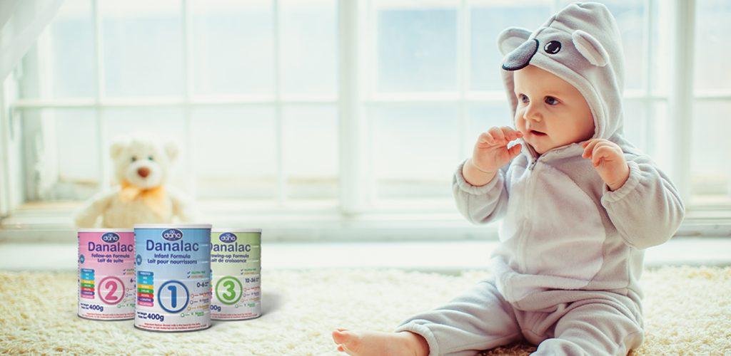 DANALAC Standard infant formula - World Best Baby Milk